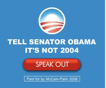 McCain Ad with the Obama O
